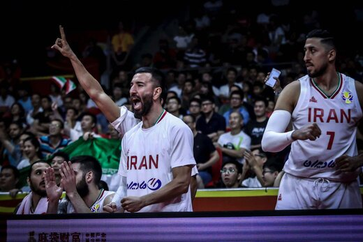 بازی تیم ملی بسکتبال ایران و پورتوریکو