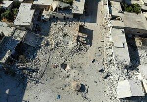 تایید حمله هوایی پنتاگون به ادلب سوریه