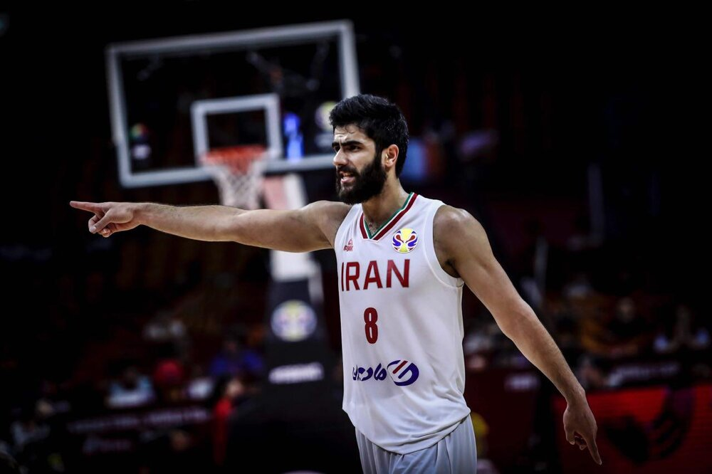 Iran's nat'l basketball team to play Olympics opening match