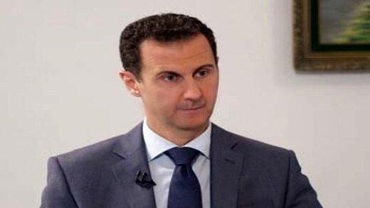 حمله لفظی اسد به انگلیس