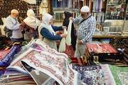 تصاویر | خرید زائران خانه خدا از بازارهای مکه