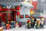 تصاویر | نمایشگاه دیدنی لگوهای چینی