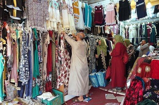 خرید زائران کشورهای خارجی از بازارهای مکه