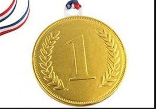 پرچم طلایی دختران استان  چهارمحال وبختیاری در المپیاد استعدادهای برتر کشور بالاست