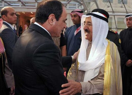 دیدار سیسی با امیر کویت/ شیخ الصباح راهی واشنگتن میشود