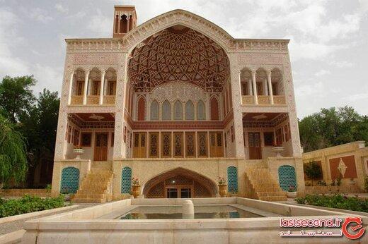 قصر بی تاریخ ایران! جایی که تاریخ مبهوتتان می کند! +تصاویر