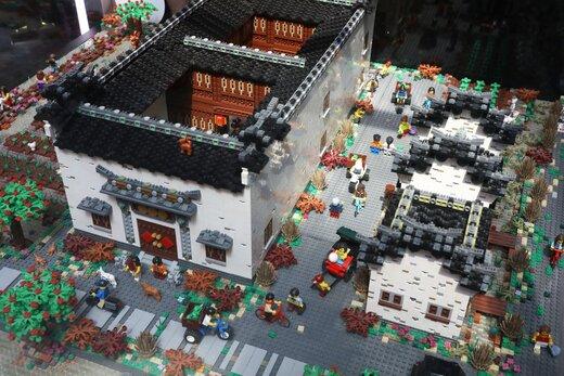 نمایشگاه فرهنگی لگو چین