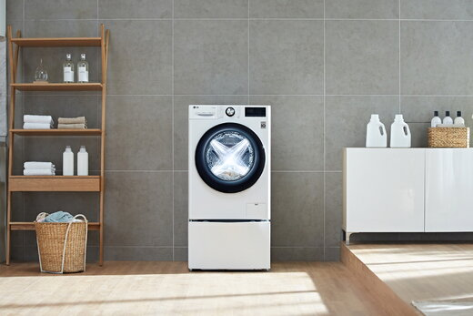 عرضه گسترده ماشین لباسشوییهای LG با هوش مصنوعی و موتور Direct Drive