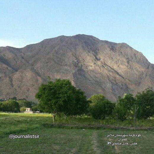 درخواست یک کمپین مردمی: به داد کوههای ملایر برسید