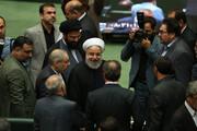 تصاویر | حضور رئیسجمهور در جلسه رای اعتماد مجلس به دو وزیر پیشنهادی