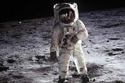 فیلم | شوخی بازیگر هندی با فرود انسان روی کره ماه!