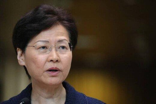 رهبر هنگ کنگ به شایعات درباره استعفایش پایان داد