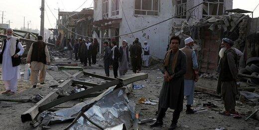 انفجار در منطقه دیپلماتیک کابل/ عکس