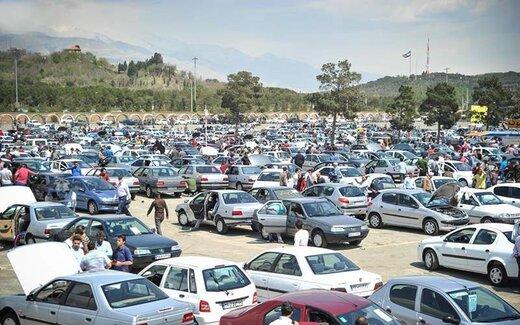 قیمت خودرو در بازار کله کرد/ قیمتها تا یک میلیون تومان ریخت