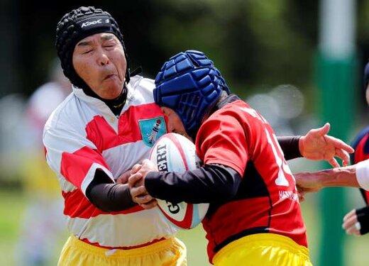 علاقه به بازی راگبی در میان سالمندان ژاپن