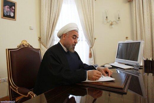 الرئيس روحاني يهنئ نظيره الكوري الشمالي بمناسبة العيد الوطني لبلاده