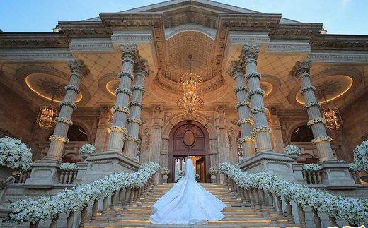 مراسم عروسی با تم سیندرلا در گرمدره!