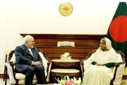 ظریف با نخست وزیر بنگلادش دیدار کرد / جزئیاتی جدید از سفر ظریف