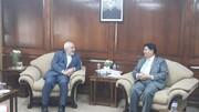 ظریف با همتای بنگلادشی خود دیدار کرد