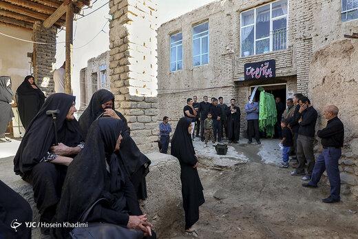 مراسم علمگردانی در روستای انجدان استان مرکزی