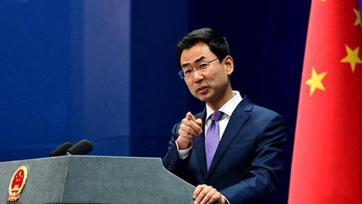 وزارت خارجه چین اعلام کرد که از قراداد 280 میلیون دلاری با ایران خبر ندارد