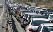 جادههای ورودی و خروجی تهران حسابی شلوغ است