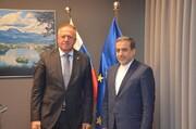 وزير سلوفيني: نرغب بالتعاون مع ايران في اعلى المستويات