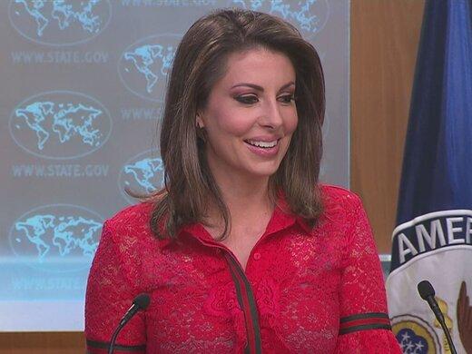 توئیت سخنگوی وزارت خارجه آمریکا درباره تحریم های تازه ایران