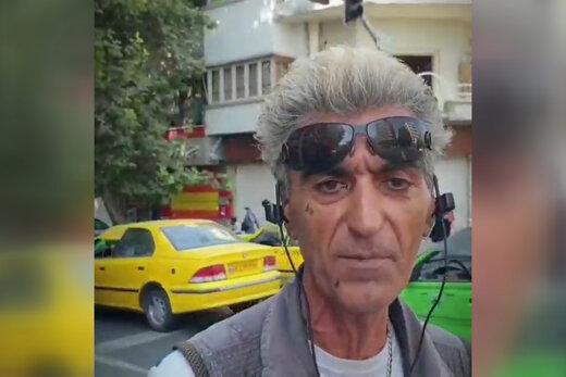 فیلم | گفتوگو با یک «پیک موتوری ژاپنی» در تهران و ماجراهای زندگیاش