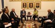 وزرای خارجه ایران و اندونزی دیدار کردند