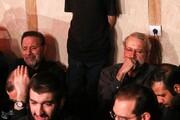 عکس | لاریجانی و واعظی در هیأت ریحانهالحسین(ع)