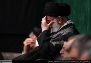 اولین شب مراسم عزاداری حضرت اباعبدالله الحسین (ع) با حضور رهبر انقلاب