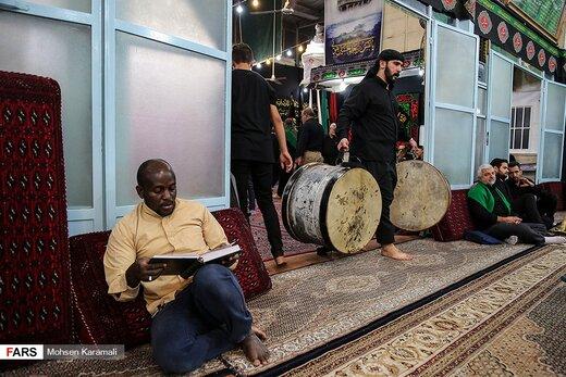 مراسم سنتی «مشق شمشیر» در قم