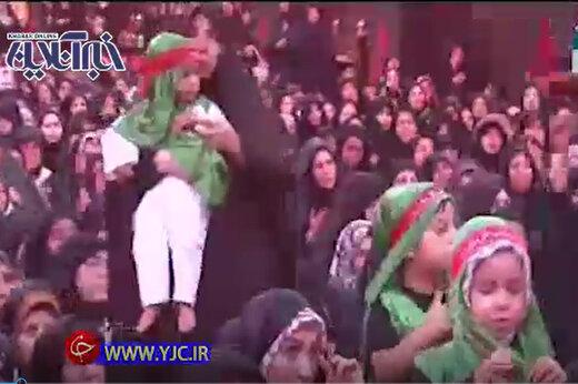 فیلم   همایش شیرخوارگان حسینی از کربلای معلی تا ورزشگاه آزادی