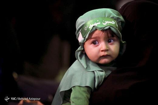 آیین شیرخوارگان حسینی در تبریز