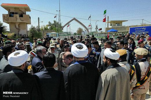 فیلم و عکس | بازگشایی مرز خسروی با حضور وزیران کشور ایران و عراق