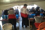 خدمترسانی ۲ هزار نیروی درمانی هلال احمر در راهپیمایی اربعین