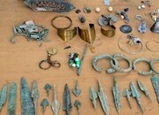 کشف عتیقههای هزار ساله در گنبدکاووس/ عکس