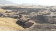 ۱۰۰ هکتار از مراتع دهلران در آتش سوخت