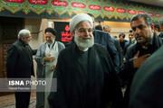 تصاویر | عزاداری اباعبدالله(ع) با حضور رئیسجمهور
