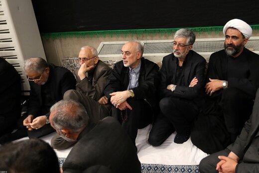 عکس | هم نشینی حداد عادل و معاون روحانی