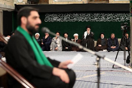 اولین شب از مراسم عزاداری حضرت سیدالشهداء(ع) در حسینیه امام خمینی(ره)