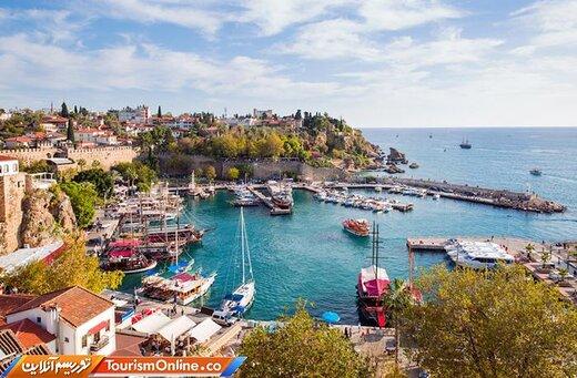 ده: آنتالیا: ۱۲٫۴۱ میلیون نفر بازدیدکننده بینالمللی