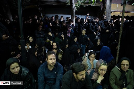 مراسم «شاهحسینگویان» در تبریز