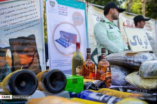 نخستین مرحله از طرح ظفر پلیس پیشگیری در تهران