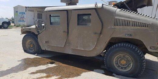 یک خودرو نظامی صهیونیستی هدف حمله پهپادی از غزه قرار گرفت