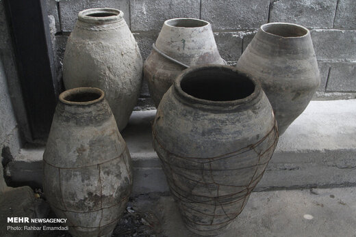 طبخ حلیم سنتی در فین بندرعباس