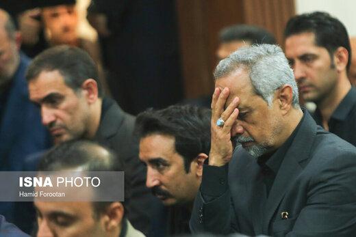 عزاداری امام حسین(ع) با حضور رئیسجمهور