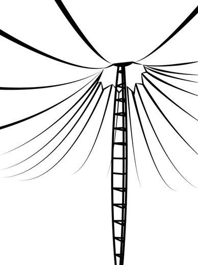 سازههای پارچهای ماهوت ، ترکیب زیبایی و کارایی در فضای باز
