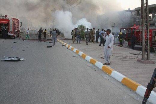 بغداد با سه انفجار پیاپی لرزید